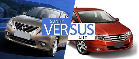 Honda City Vs Nissan Sunny