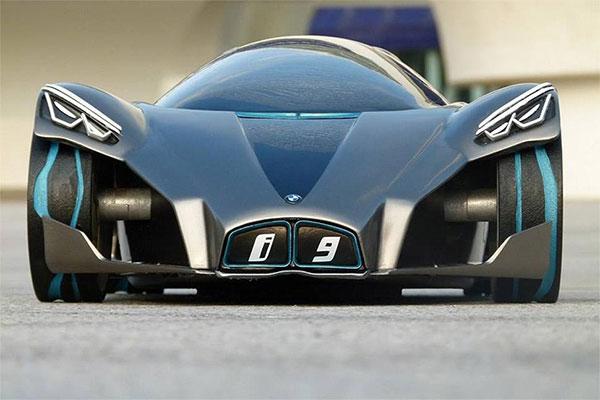 The Stylish Wild Futuristic Bmw I9 Supercar Concept