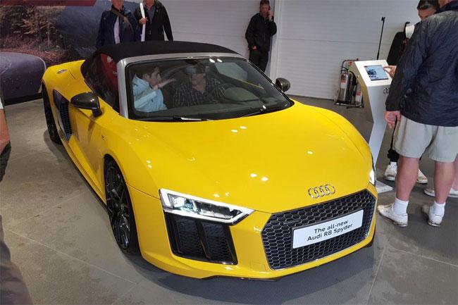 New Audi R8 Spyder