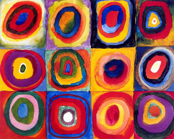 Wassily Kandinsky's Squares with Concentric Rings