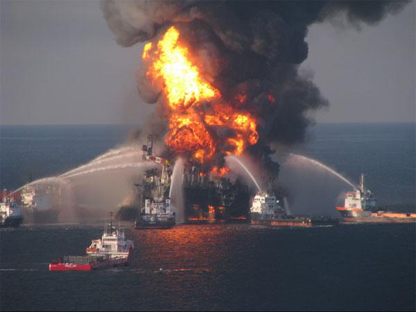 Deepwater Horizon in 2010
