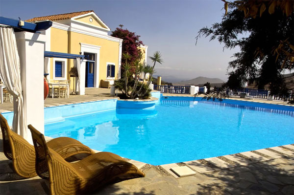 Lefkes Village Hotel in Paros