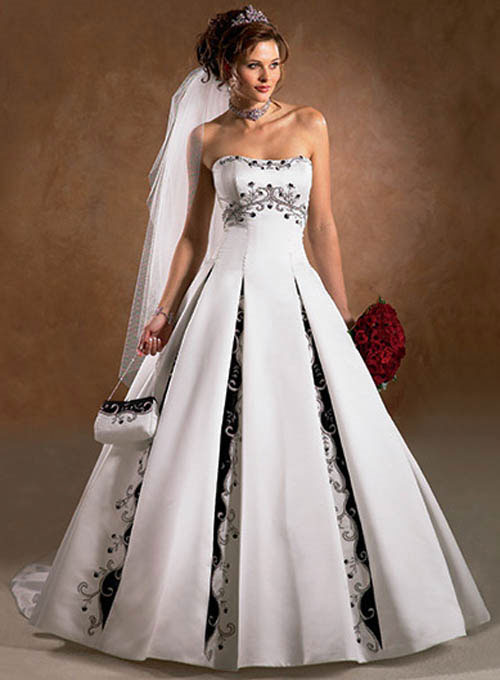Best Colorful Wedding Dresses