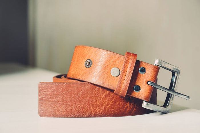 A Belt With A Secret Section