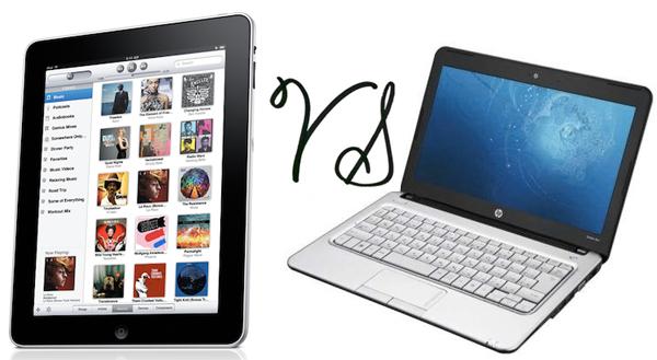 Tablets Versus Laptops